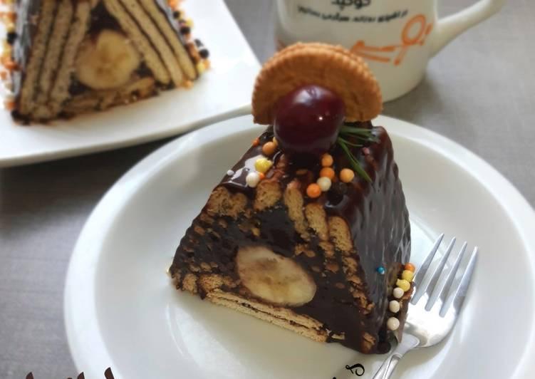 کیک یخچالی هرمی دستور توسط Rezvani S کوکپد