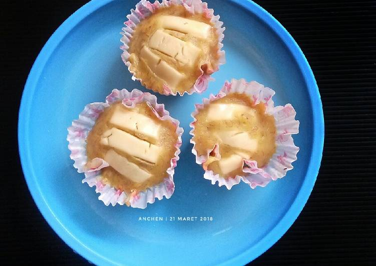 Steamed Banana Muffin - Mpasi