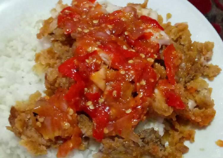Resep Ayam Geprek Sambal Matah Oleh Lisna Nur Hayati Cookpad