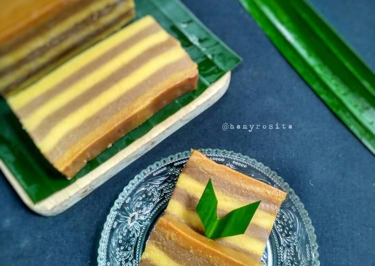 Kue Lapis Tepung Beras Labu Kuning - cookandrecipe.com