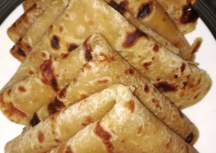 Steps to Prepare Most Popular Soya chapatis#Author marathon