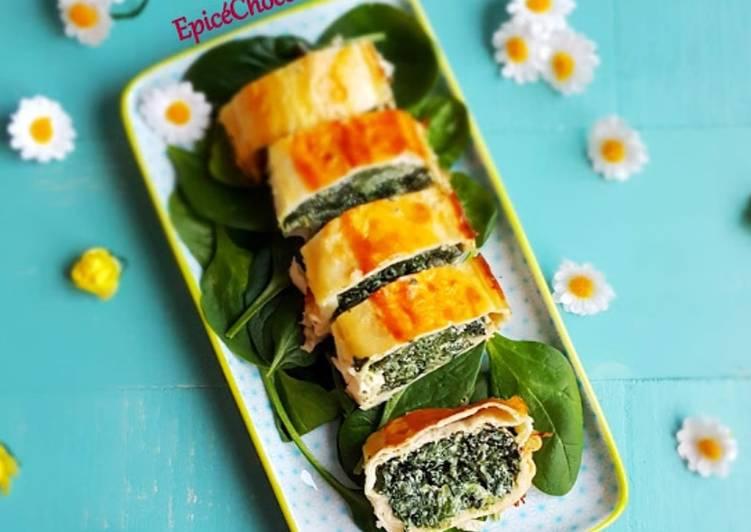 Recipe: Delicious Wraps chaud epinards, blettes et ricotta