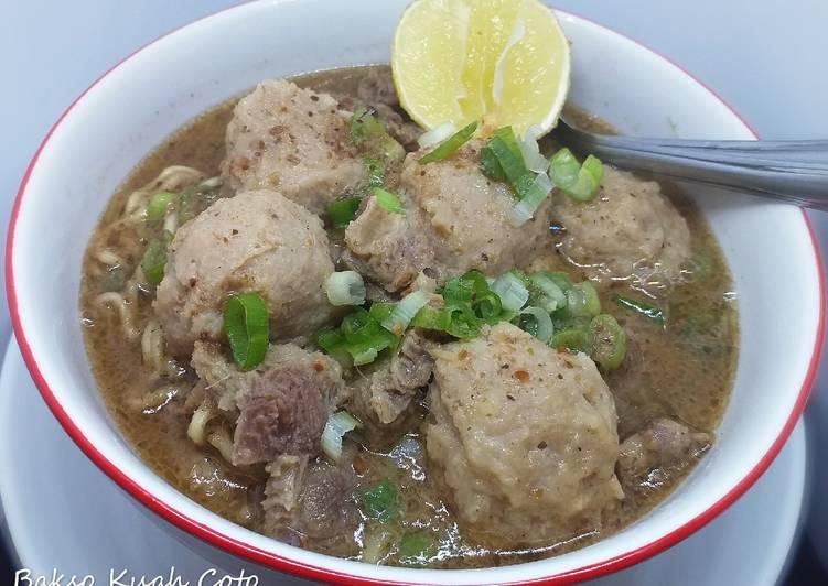 Resep Bakso Kuah Coto Makassar Oleh Triple K Kitchen Moms Kaylankafiyakhaleef Cookpad