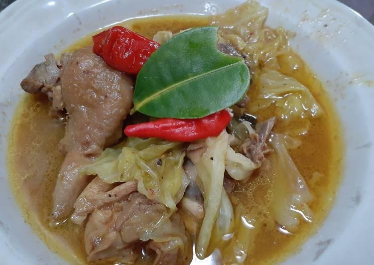 Resep Tongseng Ayam, Enak Banget