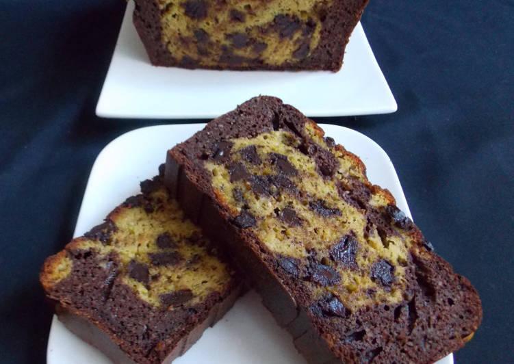 La Délicieuse Recette du Cake chocolat & pistache