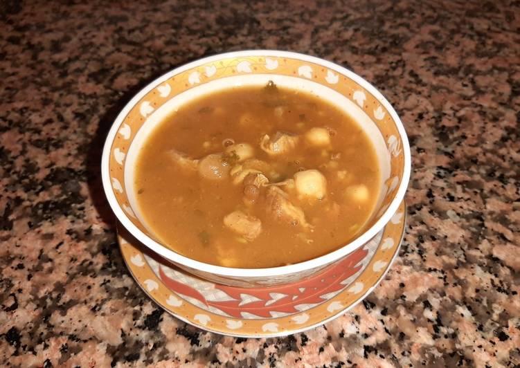 Harira sopa marroquí