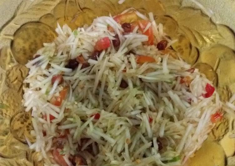 Resep Papaya salad ala maya Yang Populer Pasti Nagih