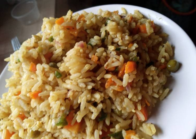 Chinese fried Rice Choosing Fast Food That's Good For You