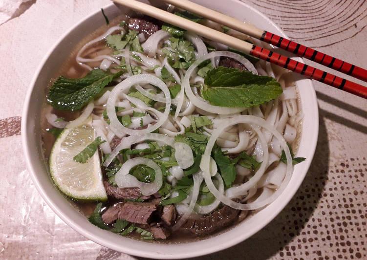 Pho Bò (soupe vietnamienne)