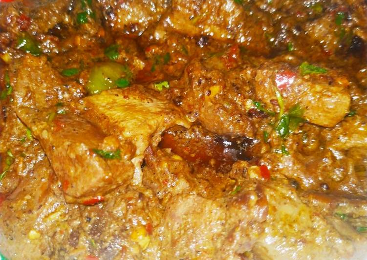 Simple Way to Make Homemade Mutton kaleji