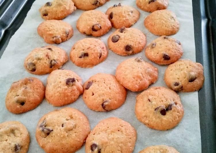 Chocolate Chip Cookie 🍪 versi garing (request anak)