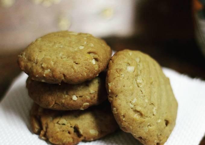 Easiest Way to Cook Tasty Multigrain Honey Oats Cookies