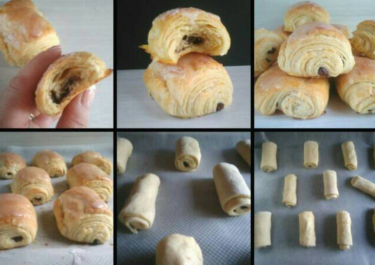 Petits pains au chocolat maison