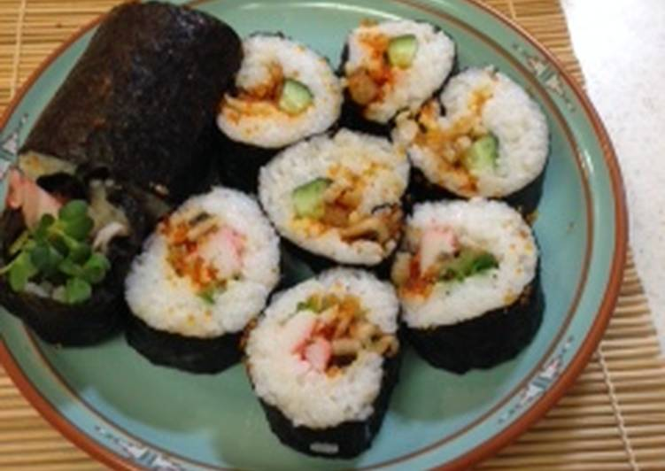 How to Make Perfect Makizushi (roll sushi)