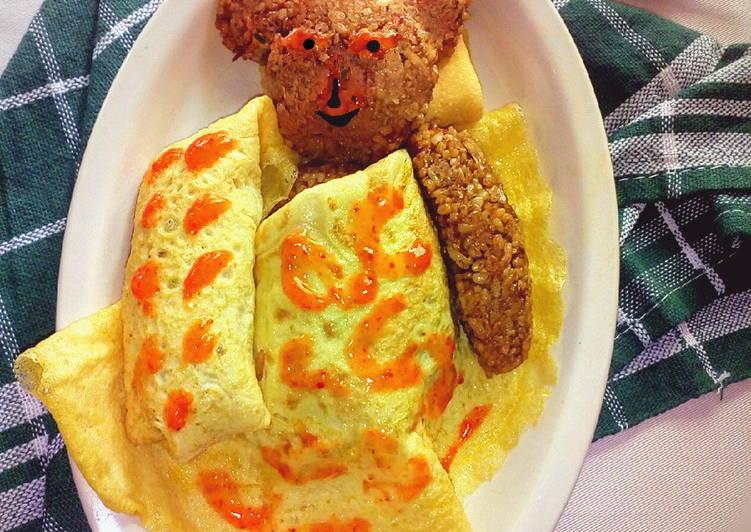 Omurice (Nasi Goreng Omelet)
