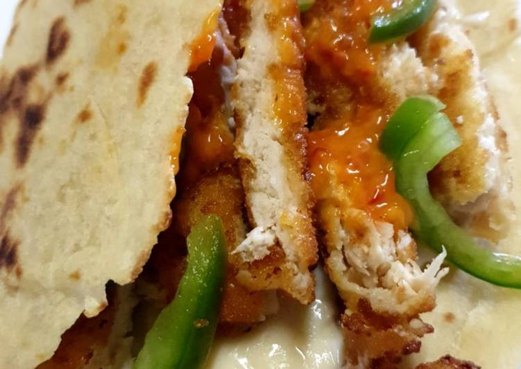 Recipe of Award-winning Chicken Wrap