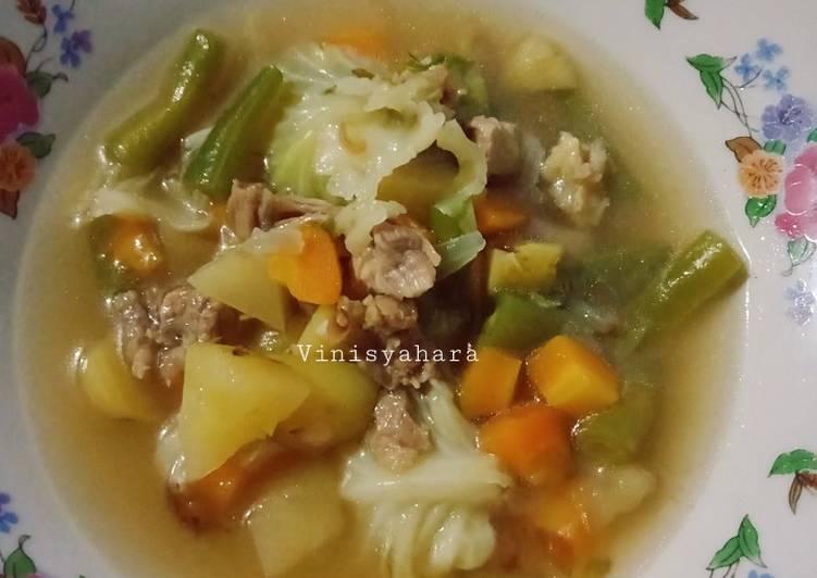 Sop Daging Manji (Mantab Jiwa)