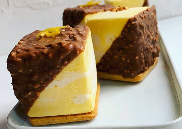 How to Make Yummy ☆Cubes de Mousses Marbrés façon Rocher au Pralin☆