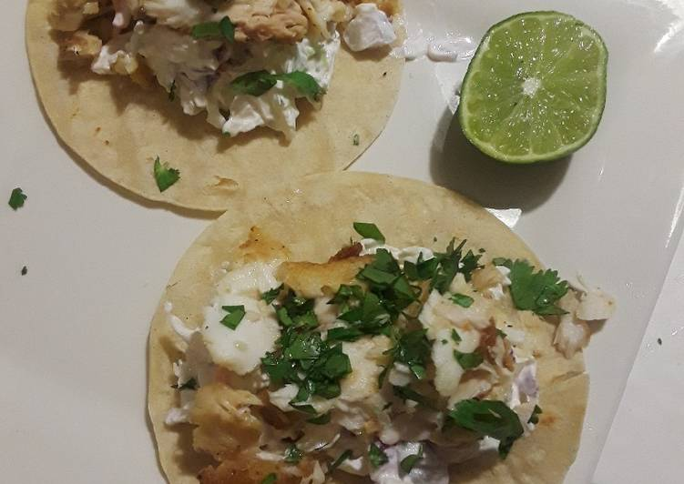 Easiest Way to Prepare Appetizing Easy Fish Tacos