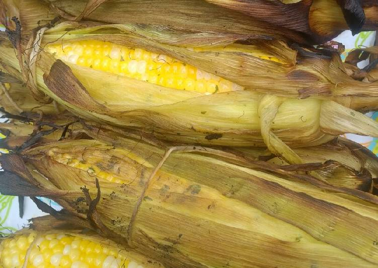Memorial Day Grilled Corn on the cobb