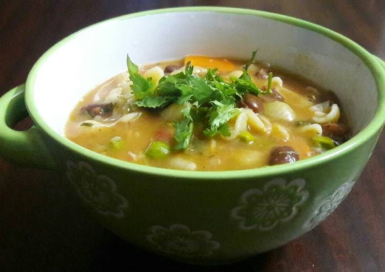 How to Make Perfect Minestrone soup #teamcontest#THEBIGFIVE#Soup#Kidsmenu