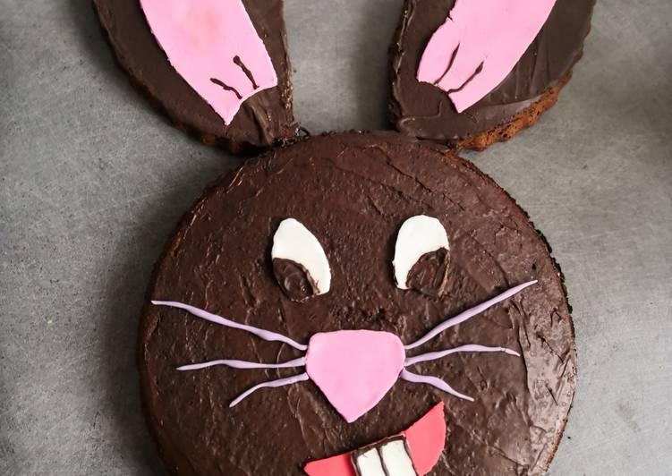 Comment faire Faire Parfait Gâteau au chocolat, lapin