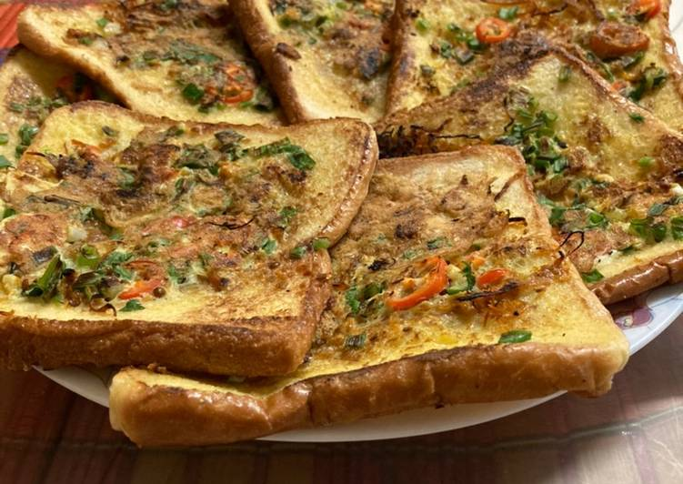 Resepi:  Roti telur simple  Sempena PKP