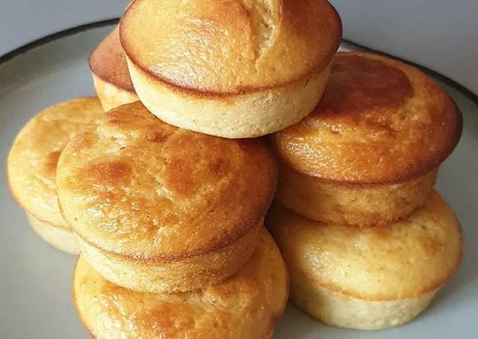Muffins au citron sans matière grasse