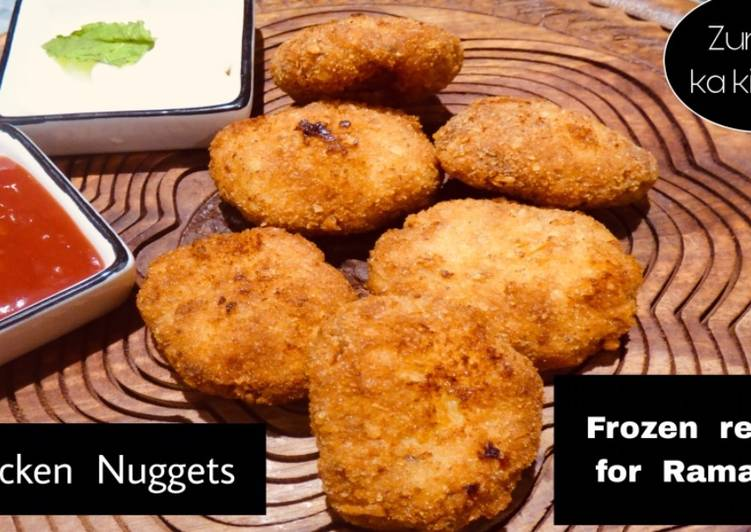 Recipe of Ultimate Chicken Nuggets #ramadankitayari