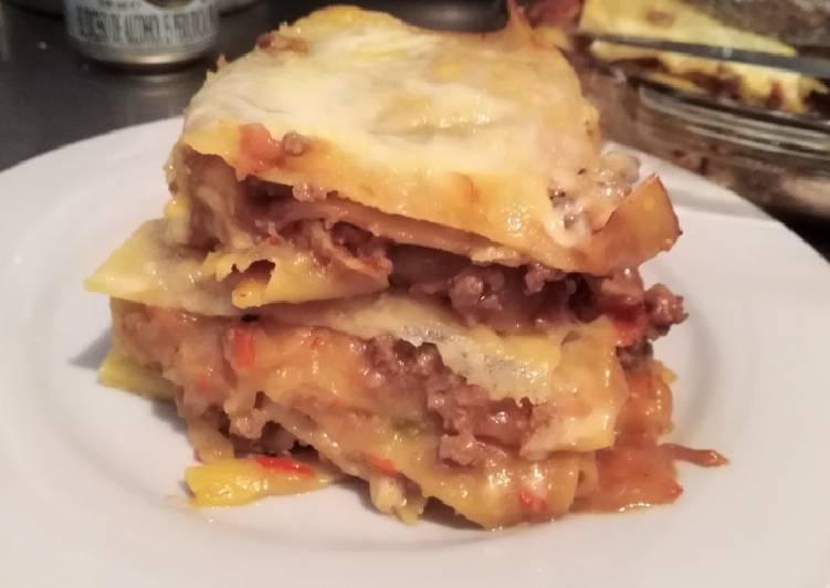 Lasagna a la bolognesa 🍴