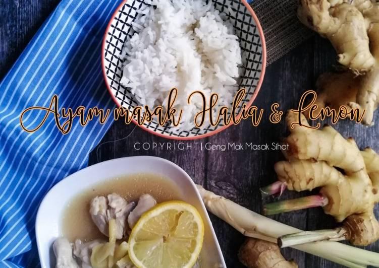 Ayam Masak Halia dan Lemon