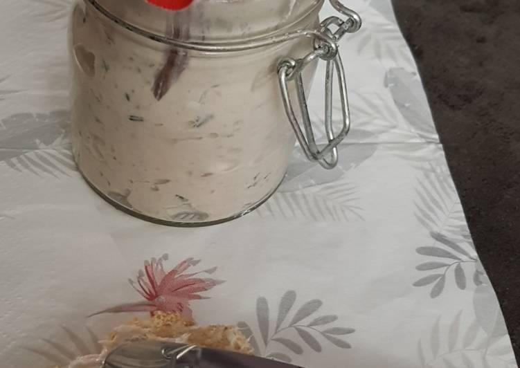 Rillettes au thon et mascarpone