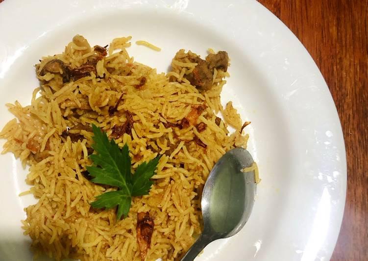 Nasi Kebuli (Nasi Briyani)