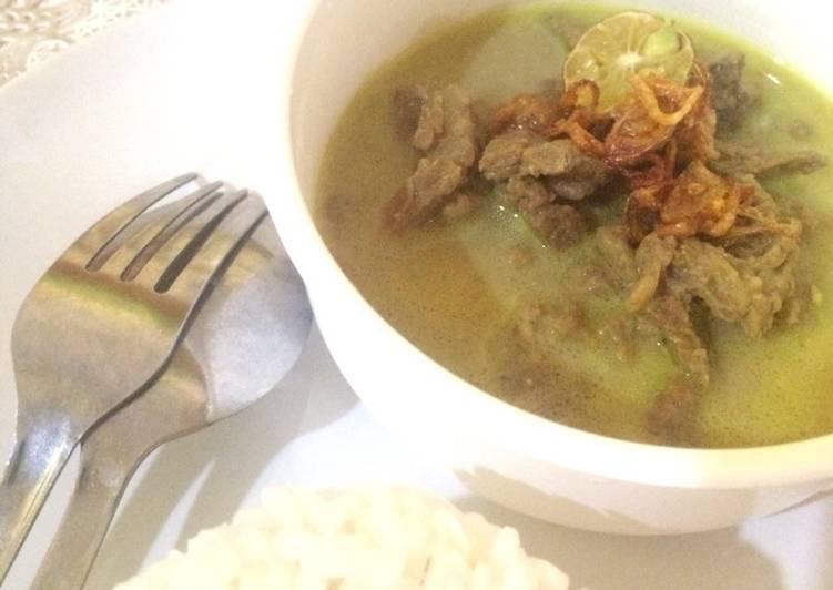 Gule Sapi (Javanese Curry)