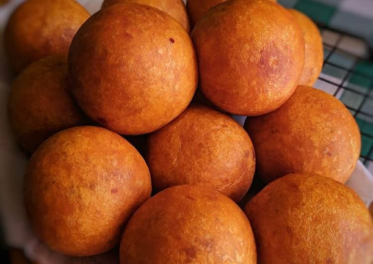 Bola ubi gula merah/ kue obi