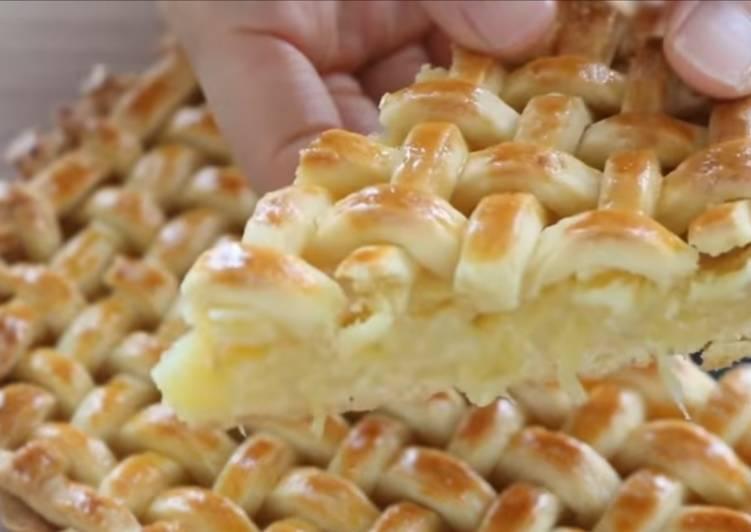 Vickys Shortcrust Pineapple Pie, GF DF EF SF NF