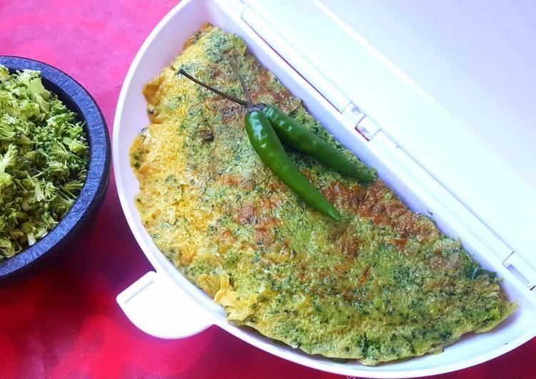 Recipe of Ultimate Broccoli Omelette