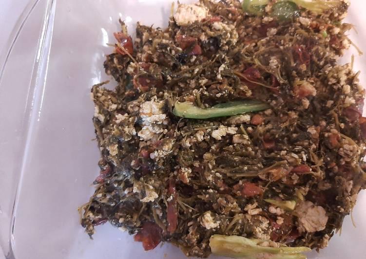 How to Prepare Speedy Methi ka Saag with Paneer (Fenugreek leaves)