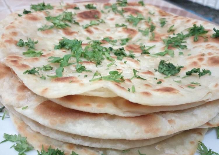 Three -ingredients Flat Bread Recipe