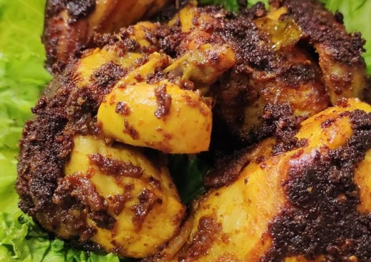 Ayam bakar bumbu Padang asli
