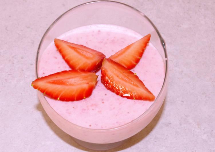 Comment Servir Mousse aux fraises