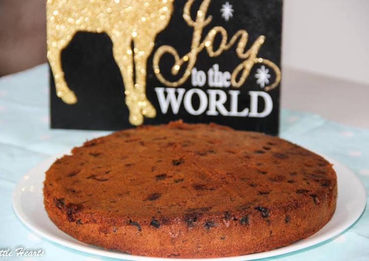 Kerala Christmas Fruit (Plum) Cake