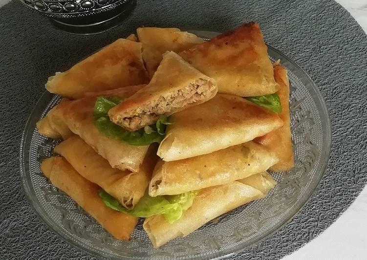 Recipe: Yummy Briouates bœuf et poivrons
