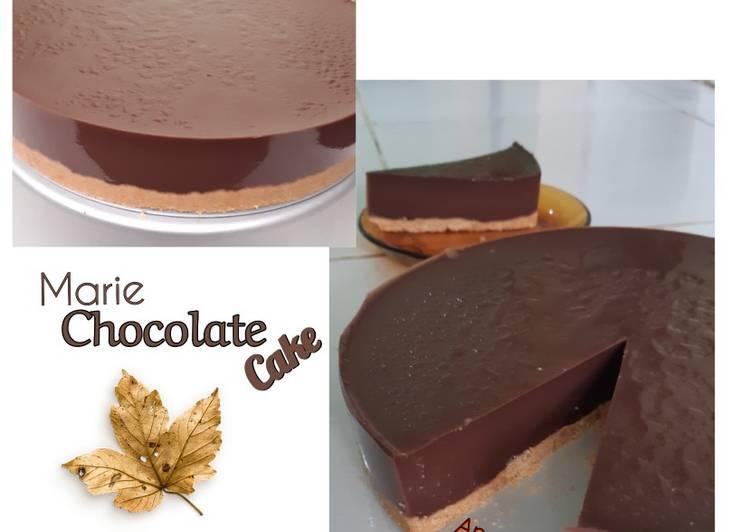 68.Marie Chocolate Cake/No Bake