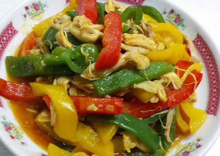 Kare Ayam suwir - cookandrecipe.com