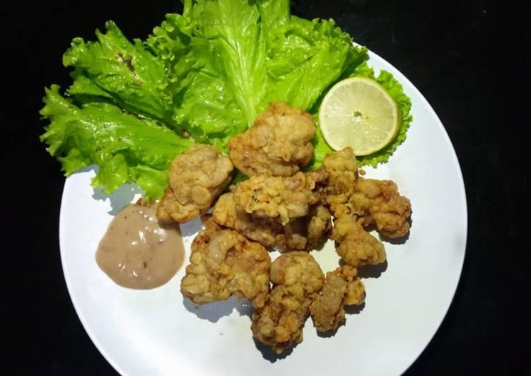 Resep Chicken Karagee