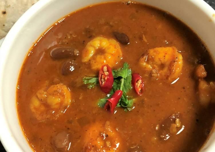 Rajma Prawn Curry