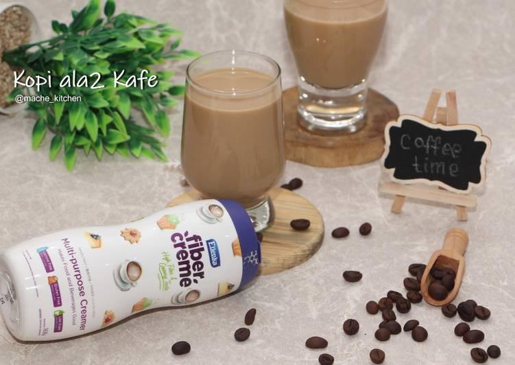 Cara membuat Kopi ala2 kafe (favorit deh)