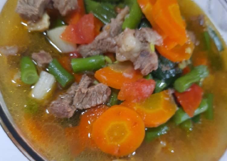 Resep Sop Daging Sapi Yang Enak Resep Masakanku