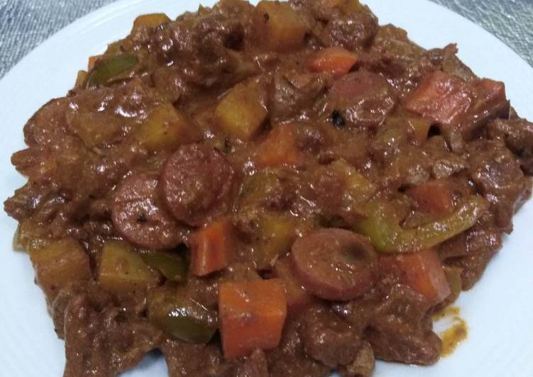 Beef Caldereta/Menudo 😋 Pinoy Dish, Foods That Are Helpful To Your Heart